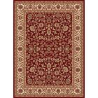 Clarence Red Area Rug Rug Size: 5'3'' x 7'3''