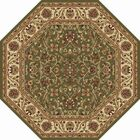 Clarence Green Area Rug Rug Size: 5'3'' Octagon