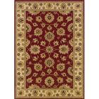 Coar Red/Ivory Area Rug Rug Size: Rectangle 9'10