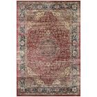 Larimore Red/Black Area Rug Rug Size: Rectangle 5'3