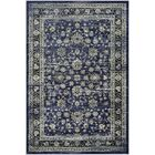 Larimore Floral Navy/Cream Area Rug Rug Size: Rectangle 9'2