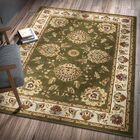 Colindale Green Area Rug Rug Size: Rectangle 9'2