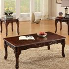 Harrietta 3 Piece Accent Table Set Color: Dark Cherry