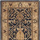 Empress Hand-Tufted Wool Brown Area Rug Rug Size: Rectangle 9'6