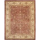 Empress Red/Light Yellow Area Rug Rug Size: Rectangle 7'6