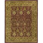 Empress Red/Gold Area Rug Rug Size: Rectangle 6' x 9'