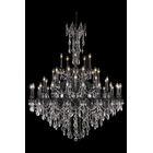Utica 45-Light Candle Style Chandelier Crystal Color / Crystal Trim: Crystal (Clear) / Spectra Swarovski