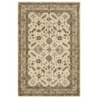 Colliers Hand-Tufted Wool Cream/Light Gray Area Rug Rug Size: Rectangle 4' x 6'