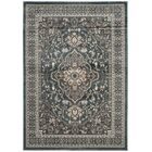 Taufner Teal/Gray Area Rug Rug Size: Rectangle 4' x 6'