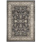 Taufner Gray/Cream Area Rug Rug Size: Rectangle 4' x 6'