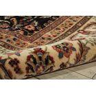 Bayhills Black/Brown Area Rug Rug Size: Rectangle 7'9