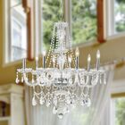 Pulaski Traditional 8-Light Candle Style Chandelier Color: Chrome