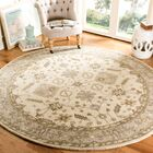 Colliers Hand-Tufted Wool Cream/Light Gray Area Rug Rug Size: Runner 2'3
