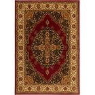 Caterina Red Area Rug Rug Size: Rectangle 7'8