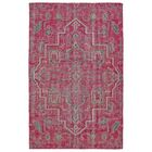 Aanya Hand-Knotted Pink Area Rug Rug Size: Rectangle 9' x 12'
