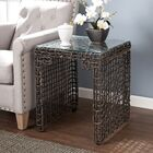 Akersville Woven End Table