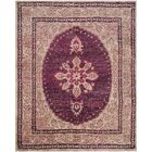 Asbury Hand-Knotted Fuchsia/Beige Area Rug Rug Size: Rectangle 4' x 6'