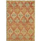 Adilet Hand-Hooked Red Area Rug Rug Size: Rectangle 8' x 11'