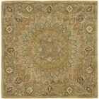 Gideon Light Brown/Grey Area Rug Rug Size: Square 6'