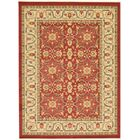 Willow Red Area Rug Rug Size: Rectangle 9' x 12'