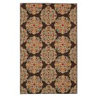 Taren Brown Area Rug Rug Size: Rectangle 5' x 7'