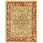 Sina Cream/Red Area Rug Rug Size: Rectangle 7' x 10'