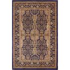 Snows Navy Blue/Beige Area Rug Rug Size: Square 8'