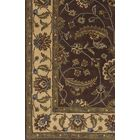 Keefer Hand Woven Wool Black Area Rug Rug Size: Rectangle 4' x 6'