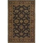 Keefer Chocolate/Tan Area Rug Rug Size: Rectangle 12' x 15'
