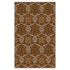 Topaz Brown Area Rug Rug Size: Rectangle 12' x 15'