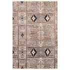 Seline Hand-Knotted Neutral/Brown Area Rug Rug Size: Rectangle 9' x 13'