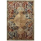 Quenby Gold/Red Area Rug Rug Size: Rectangle 7'10