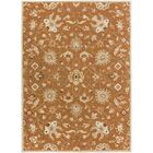 Keefer Coffee Bean Floral Area Rug Rug Size: Rectangle 12' x 15'