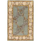 Keefer Gray Floral Area Rug Rug Size: Square 9'9