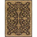 Casselman Black/Gold Area Rug Rug Size: Rectangle 8' x 11'