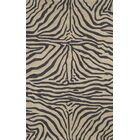 Fellman Black Zebra Outdoor Rug Rug Size: Rectangle 8'3