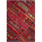 Azilal Red Area Rug Rug Size: Rectangle 5'1