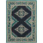 Petrina Blue Area Rug Rug Size: Rectangle 6'7