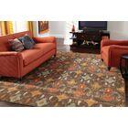 Solvang Brown/Orange Area Rug Rug Size: Rectangle 9'10