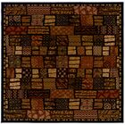 Latorre Cairo/Midnight Area Rug Rug Size: Square 7'10