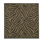 Sawtelle Black Indoor/Outdoor Area Rug Rug Size: Square 8'6