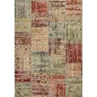 Rouidate Patchwork Area Rug Rug Size: 7'10