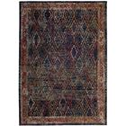 Orkney Navy/Gold Area Rug Rug Size: Rectangle 4' x 6'