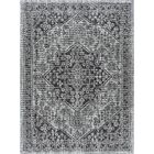Ares Traditional Black Indoor/Outdoor Area Rug Rug Size: Rectangle6'7'' x 9'6''