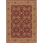 Whitehill Red/Beige Area Rug Rug Size: Rectangle 7'10