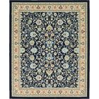 Essehoul Navy Blue Area Rug Rug Size: Rectangle 8' x 10'