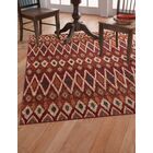 Borderlands Rust/Red Area Rug Rug Size: 7'10