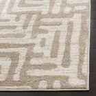 Vadim Ivory Area Rug Rug Size: Rectangle 5'1