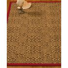 Camile Hand Woven Brown Area Rug Rug Size: Rectangle 2' X 3'