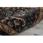 Sahana Black/Brown Area Rug Rug Size: Rectangle 12' x 15'
